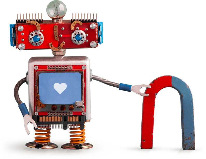 Robot | Website Content Creation | Content Writing | Pixel Positive
